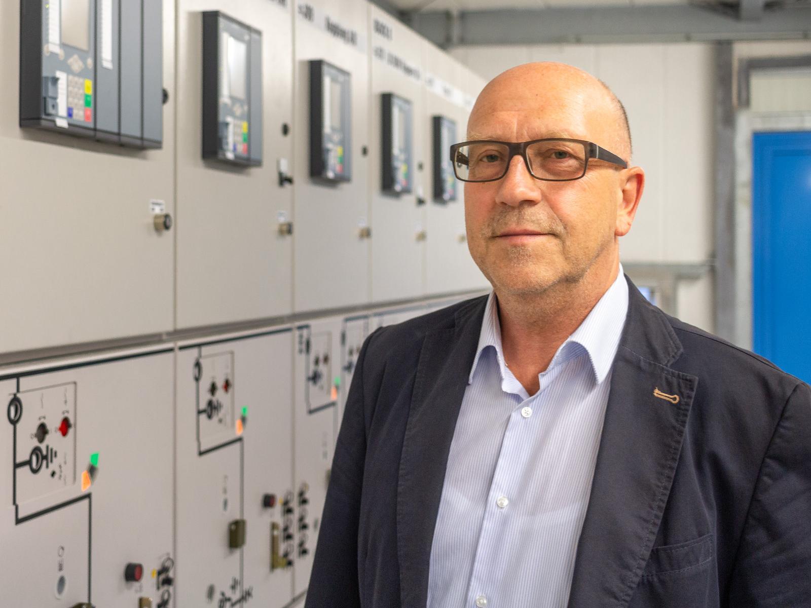 Geschäftsführer Volker Rattey