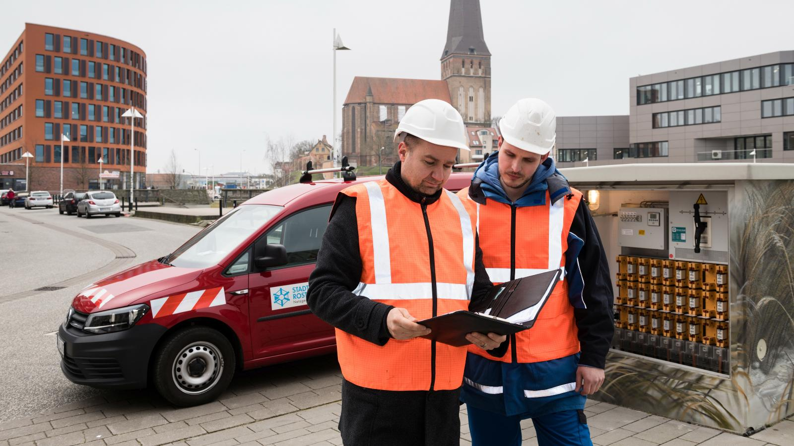 Wartung und Betrieb des Rostocker Netzes
