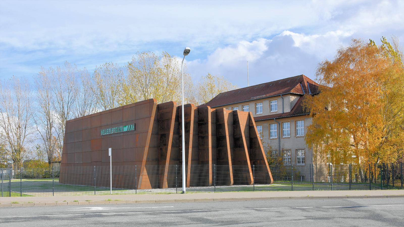 Gebäude Landstromanlage