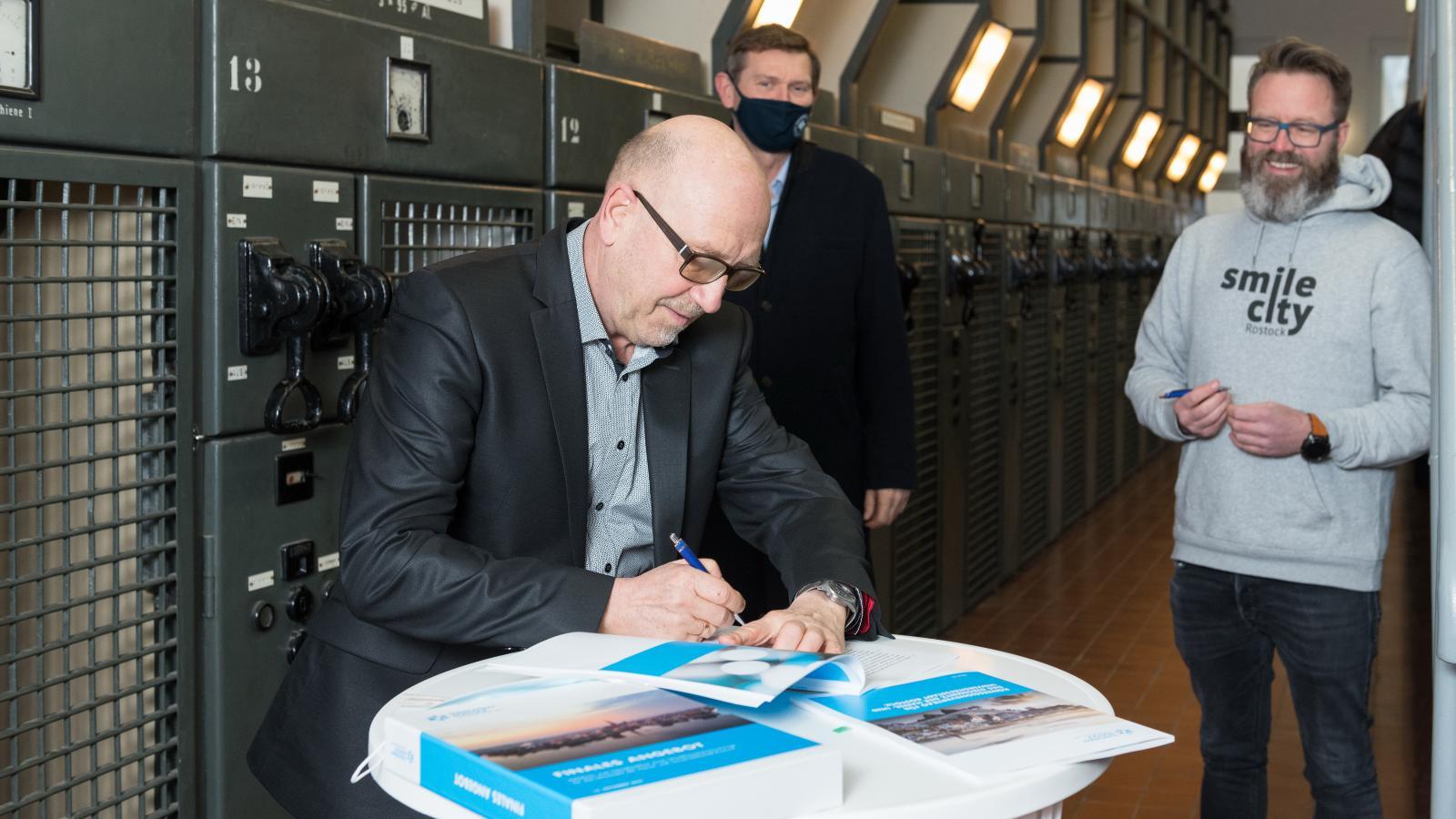 Konzessionsvertrag unterzeichnet